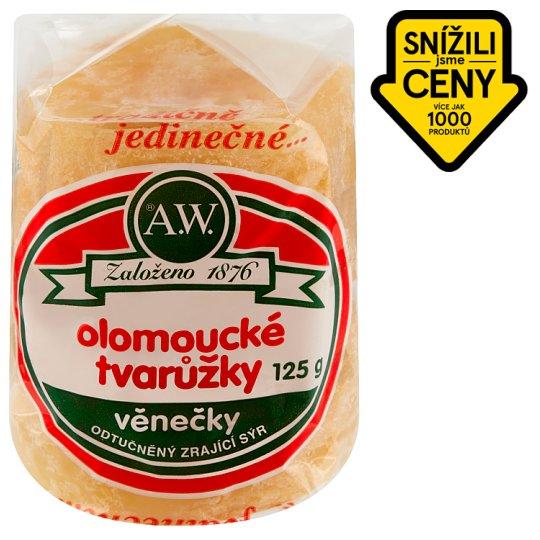 A.W. Olomoucké tvarůžky věnečky 125g