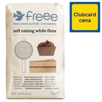 Doves Farm Free From Gluten Self Raising White Flour 1kg