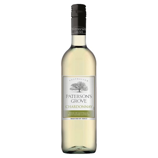 Paterson's Grove Chardonnay víno bílé suché 750ml
