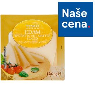 Tesco Edam 30% Sliced 100g