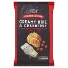 Tesco Finest Limited Edition Creamy Brie & Cranberry Crinkle Cut 150g