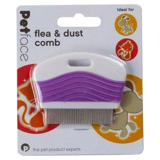 Petface Hřeben blechy a prach