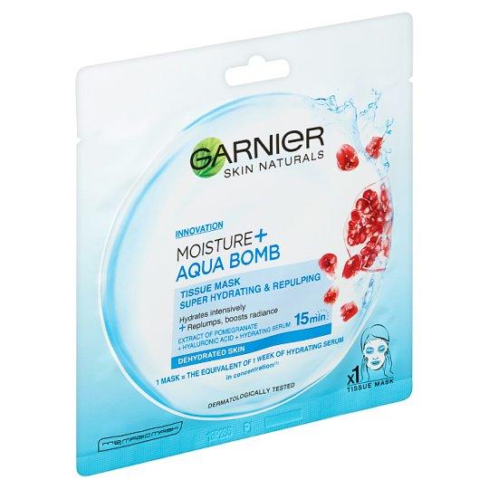 Garnier Skin Naturals Superhydratační vyplňující textilní maska Moisture + Aqua Bomb 32g