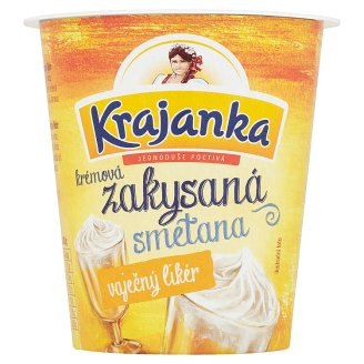 Krajanka Sour Cream with Eggnog Flavour 130g