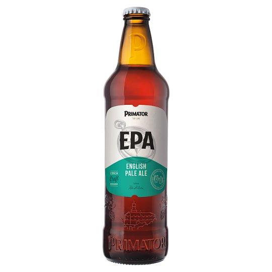 Primátor EPA pivo svrchně kvašený polotmavý ležák 0,5l