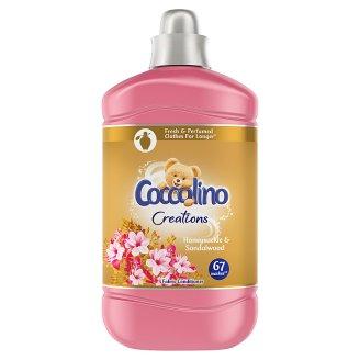 Coccolino Creations Honeysuckle & Sandalwood aviváž 67 dávek 1,68l