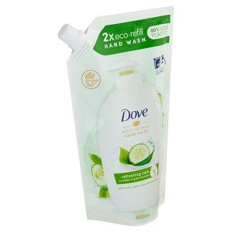 Dove Okurka a zelený čaj Tekuté mýdlo náhradní náplň 500ml