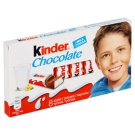 Kinder Chocolate milk Chocolate Bars with Milk Filling 8 x 12.5g