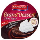 Ehrmann Dessert with Flavors of Dark Chocolate and Whipped Cream 200g