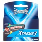 Wilkinson Sword Xtreme3 náhradní hlavice 4 ks