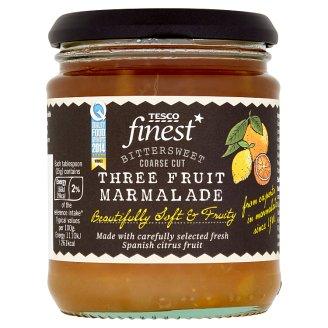 Tesco Finest Marmeláda ze 3 druhů citrusových plodů 340g