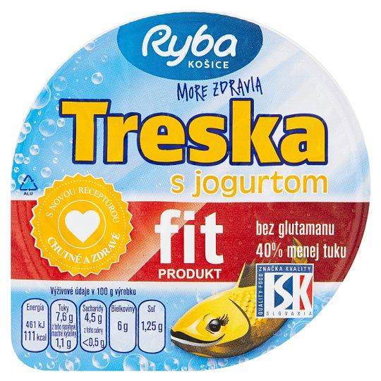Ryba Košice Treska s jogurtem 140g