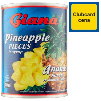 Giana Pineapple Pieces in Syrup 565g