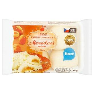 Tesco Yeast Dumplings with Apricot Flavour 4 pcs 200g