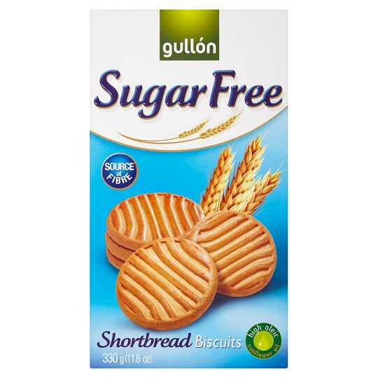 Gullón Shortbread Cookies without Sugar with Sweeteners 330g