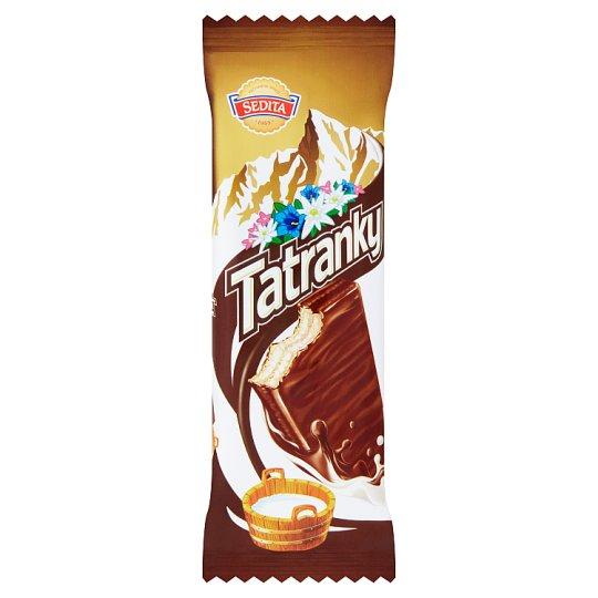 Sedita Tatranky Wafers with Milky Cream Filling in Milk-Cocoa Topping 30g