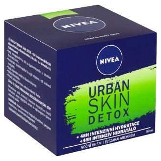 Nivea Essentials Urban Skin Detox Antioxidační noční krém 50ml