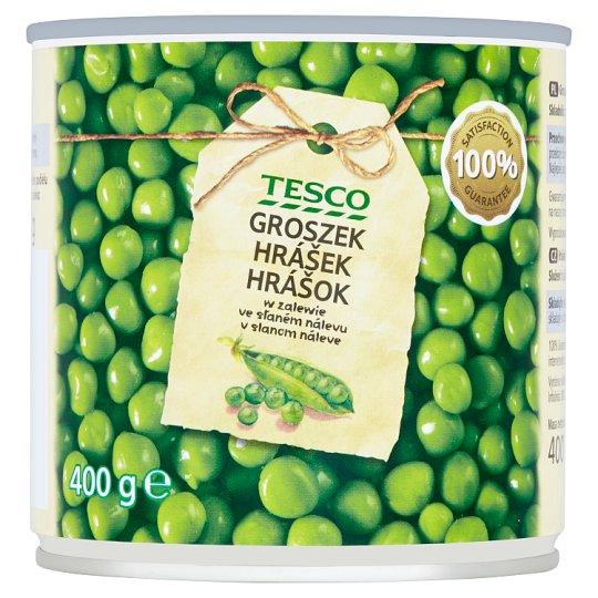 Tesco Peas in Brine 400g