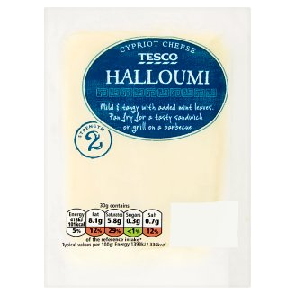 Tesco Halloumi Semi Hard Cheese Made from Cow's, Goat's and Sheep's Milk 250g