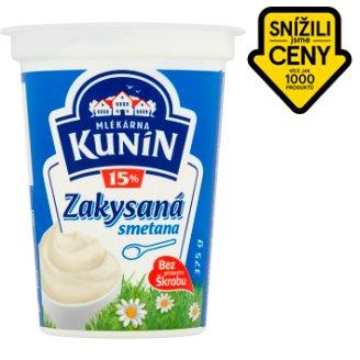 Mlékárna Kunín Zakysaná smetana krémovitá 375g