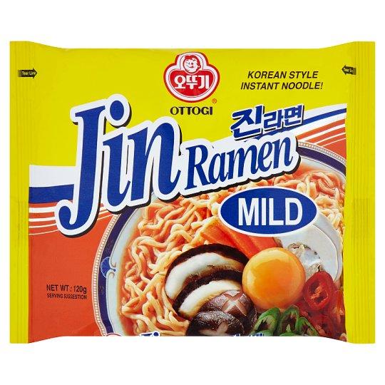 Ottogi Jin Ramen Mild instantní nudlová polévka 120g