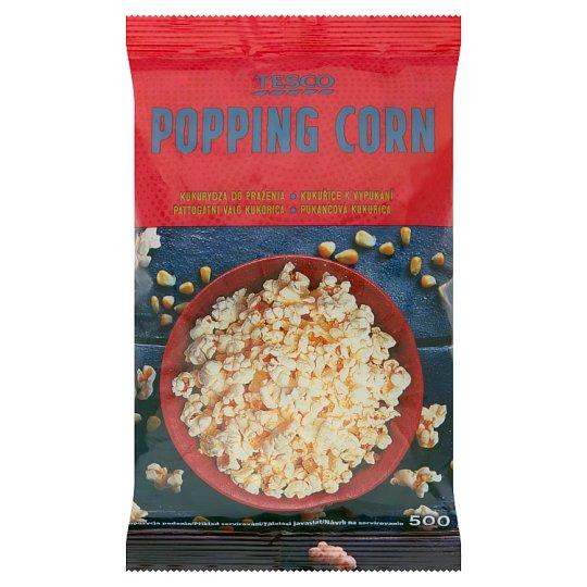 Tesco Popping Corn 500g