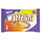 Milka Waffelini Wafer with Filling Retted in Milk Chocolate of Alpine Milk 5 x 31g