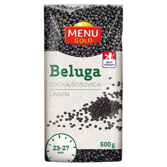 Menu Gold Beluga Black Lentils 500g