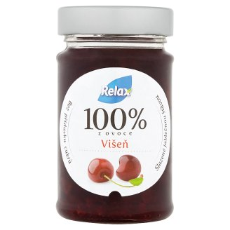 Relax 100% z ovoce višeň 220g
