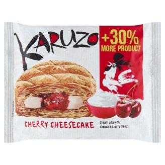 The Bakers Karuzo Pita z listového těsta s cheesecake-třešňovou náplní 62g
