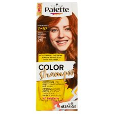 image 1 of Schwarzkopf Palette Color Shampoo Hair Color Bright Amber 218