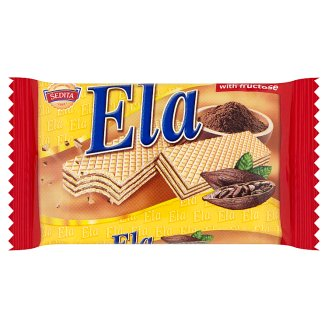 Sedita Ela Wafers with Creamy Cocoa Filling with Chocolate and Fructose 40g