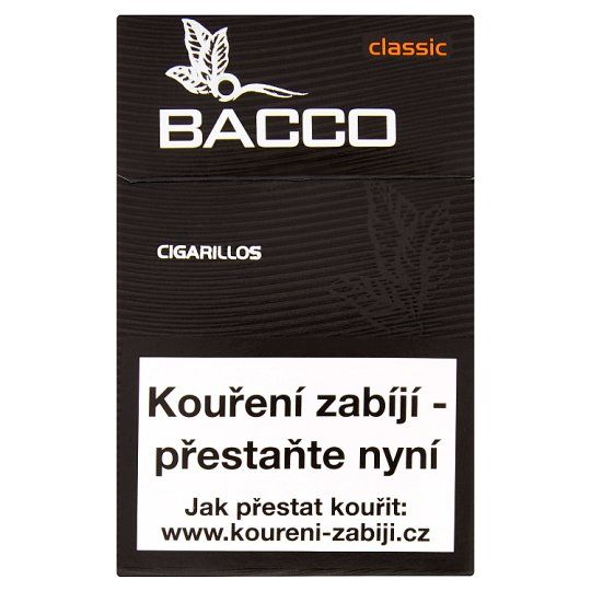 Bacco Classic doutníčky 17 ks