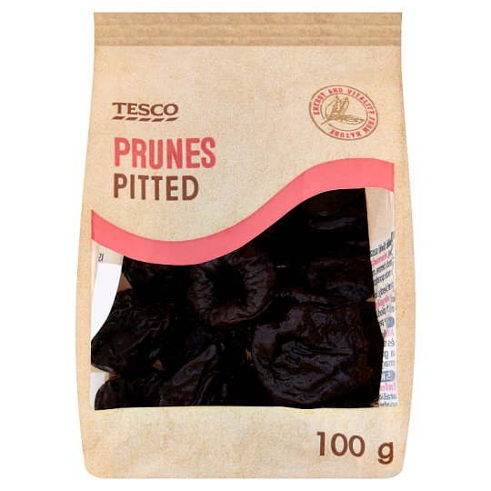 Tesco Prunes Pitted 100g