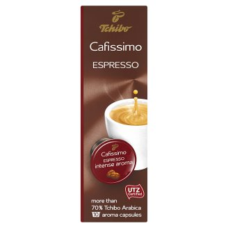 Tchibo Cafissimo Espresso Intense Aroma pražená mletá káva 10 x 7,5g