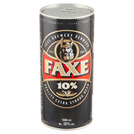 Faxe Quality Extra Strong Beer 1000ml