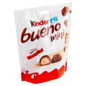 Kinder Bueno Mini oplatka s polevou z mléčné čokolády a s mléčnou a lískooříškovou náplní 108g