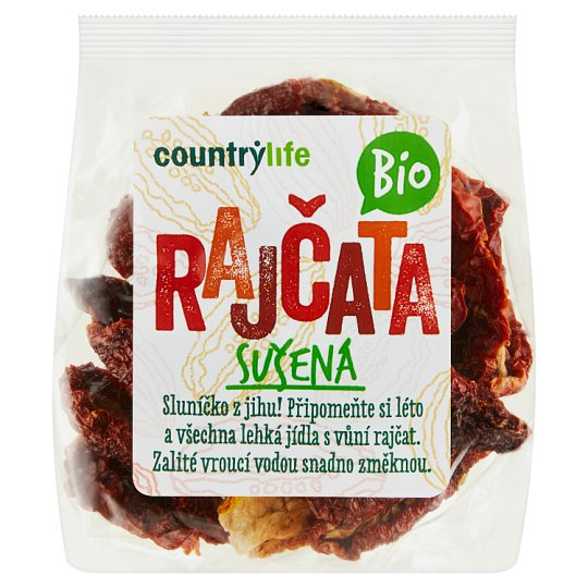 Country Life Organic Dried Tomatoes 100g