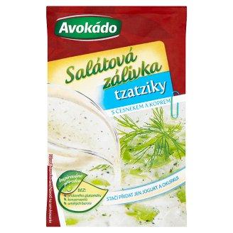 Avokádo Salátová zálivka tzatziky s česnekem a koprem 8g