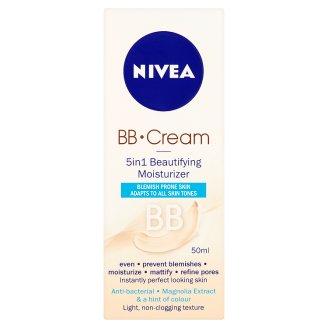 Nivea BB Cream Zmatňující hydratační krém 5 v 1 50ml