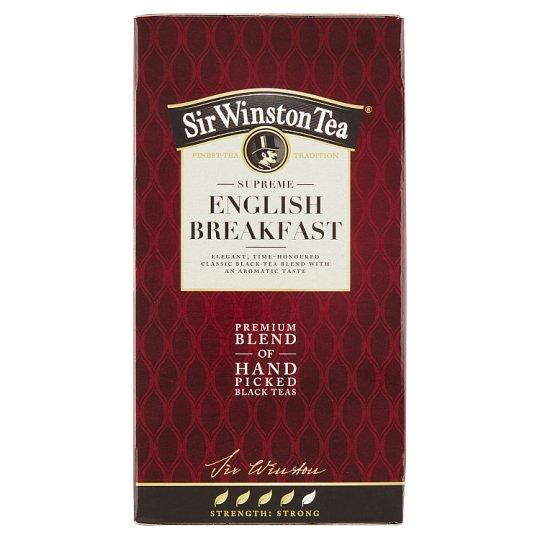 Sir Winston Tea English breakfast, 20 sáčků, 36g