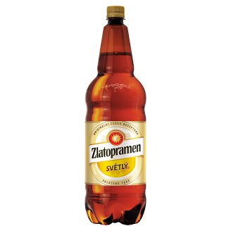 Zlatopramen Light Draft Beer 2L