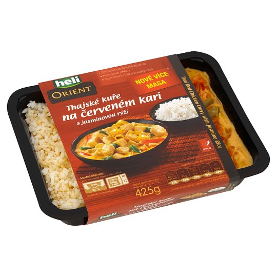 Heli Orient Thai Red Chicken Curry with Jasmine Rice 425g