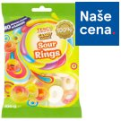 Tesco Candy Carnival Sour Rings Jelly with Fruit Flavor with Sour Sugar Topping 100g
