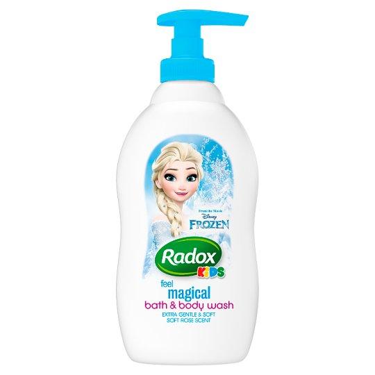 Radox Frozen dětský sprchový gel a pěna do koupele 400ml