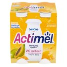 Danone Actimel Jogurtové mléko med & papája & propolis 4 x 100g