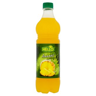 Hello Ananas s příchutí 0,7l