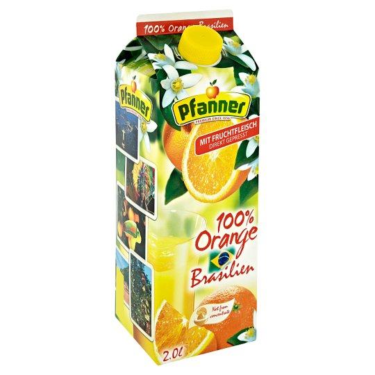Pfanner 100% Orange Brasilien Juice 2.0L