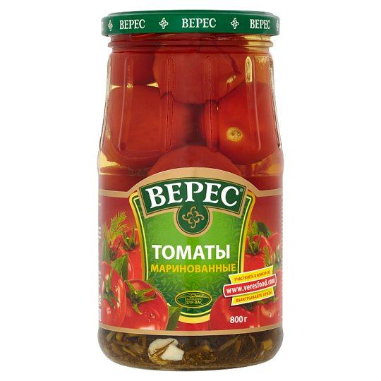 Veres Pickled Tomatoes 800g