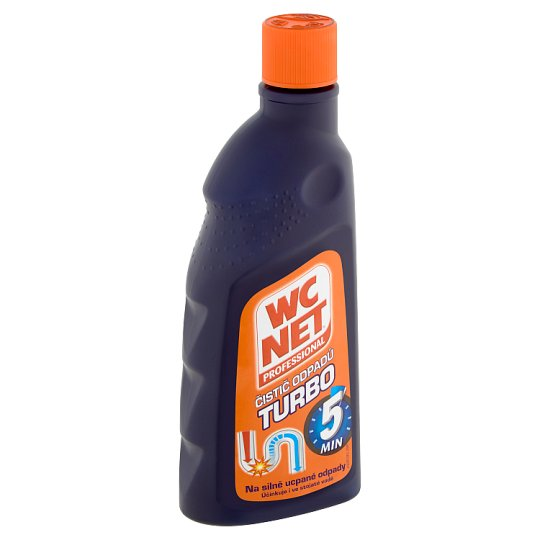 WC Net Professional Turbo gelový čistič odpadů 500ml